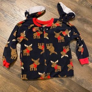 NWOT Carter's all in one pajamas 3T